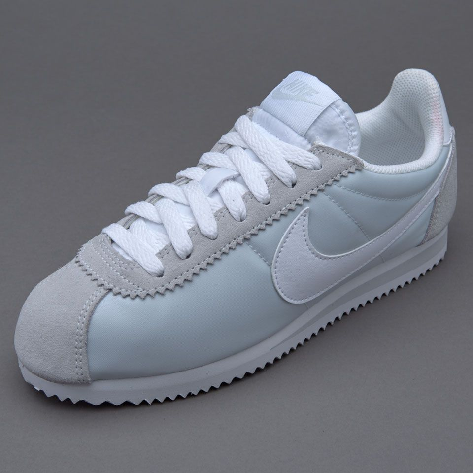 on sale 087a3 21342 Womens Shoes - Nike Sportswear Womens Classic Cortez Nylon - Pure Platinum  - 749864-010