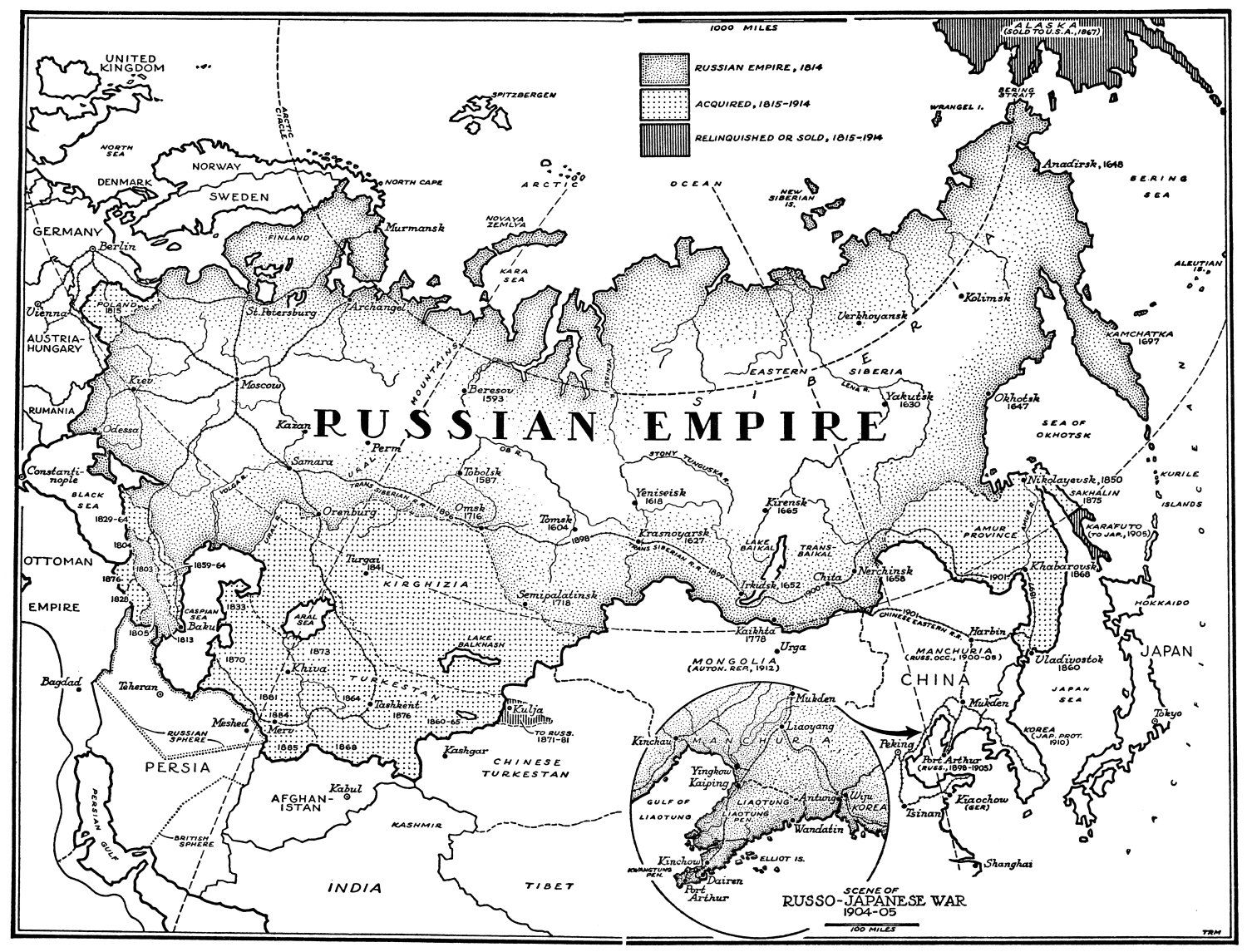 Map Of Russian Empire 1815 1914 Russian Empire Imperial Russia