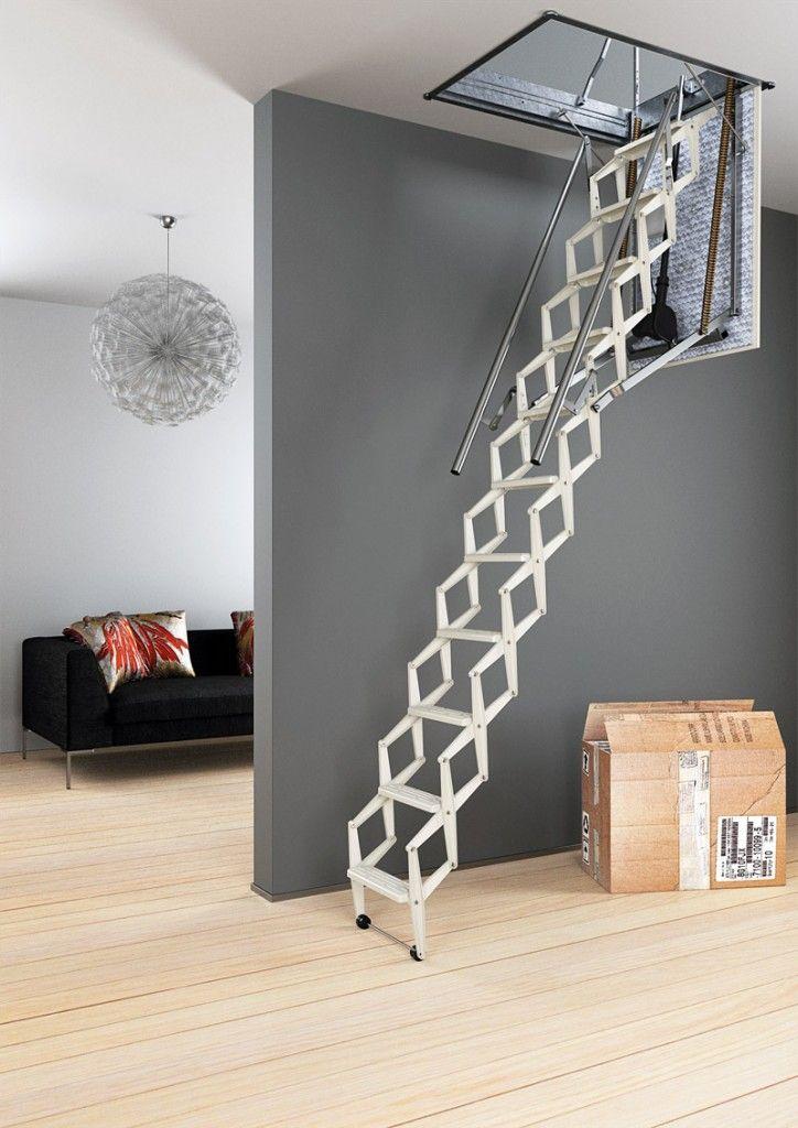 Best Retractable Ladder Rintal Escalmatic Tiny Home 400 x 300