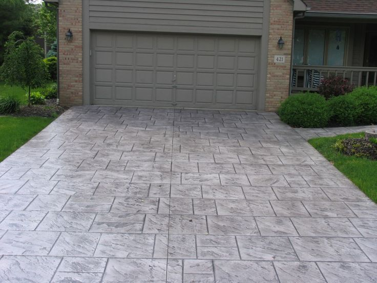Stamped Concrete Driveways Patios Walkways Pool Deck And Porches Stamped Concrete Driveway Concrete Driveways Decks And Porches