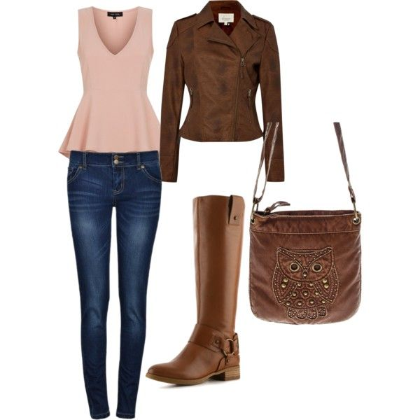 """""""casual look"""" by blueowl241 on Polyvore"""