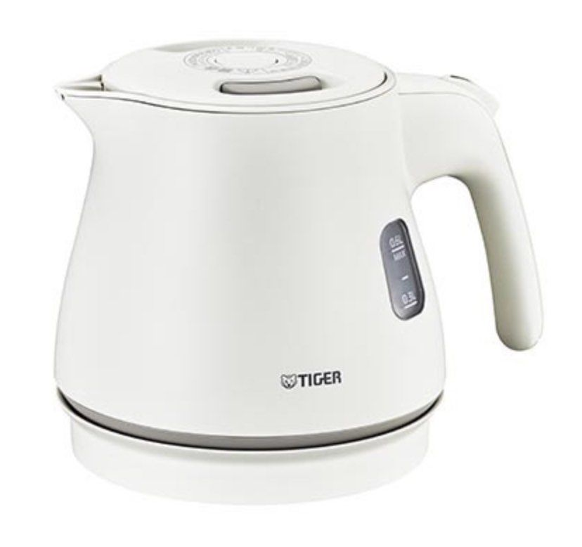 TIGER ELECTRIC KETTLE WAKUKO PCM A060 WM (0.6L) Myjapan in
