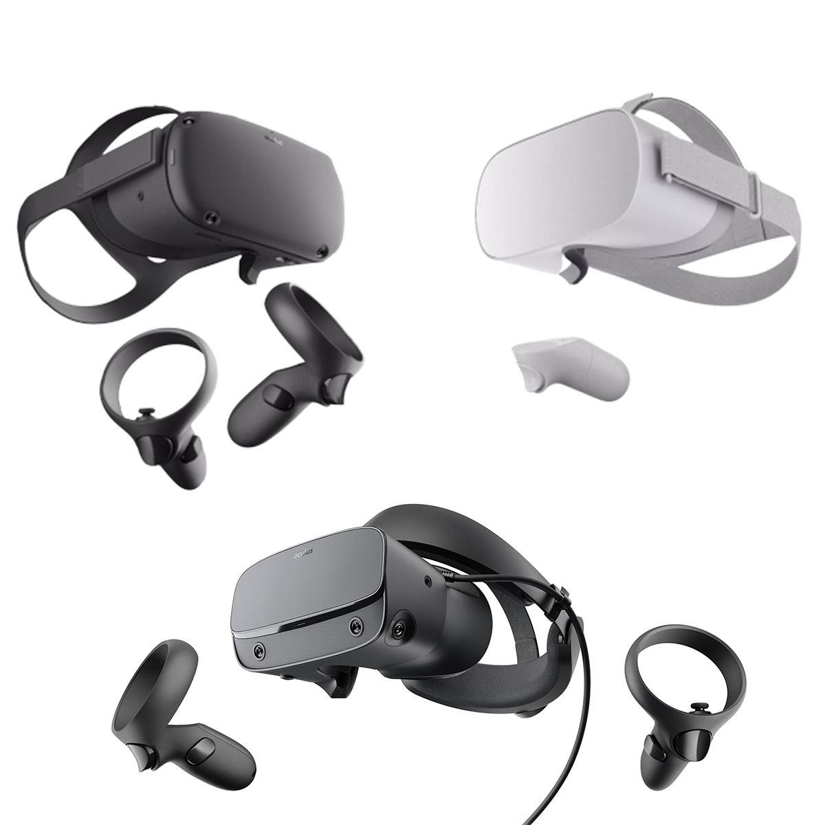 Oculus Vr Headset 2019 Collection 3d Model Oculus Go Quest