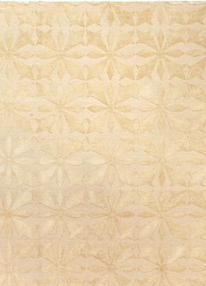 new-carpet-custom-tibetan-wool-silk-damasks-deco-flower-tile-deco-beige-botanical-minimalist-12x9-n10952