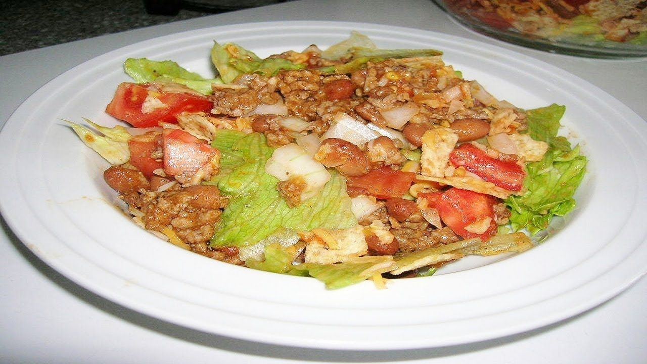 How to make Mexican Bhel - Fusion Salad