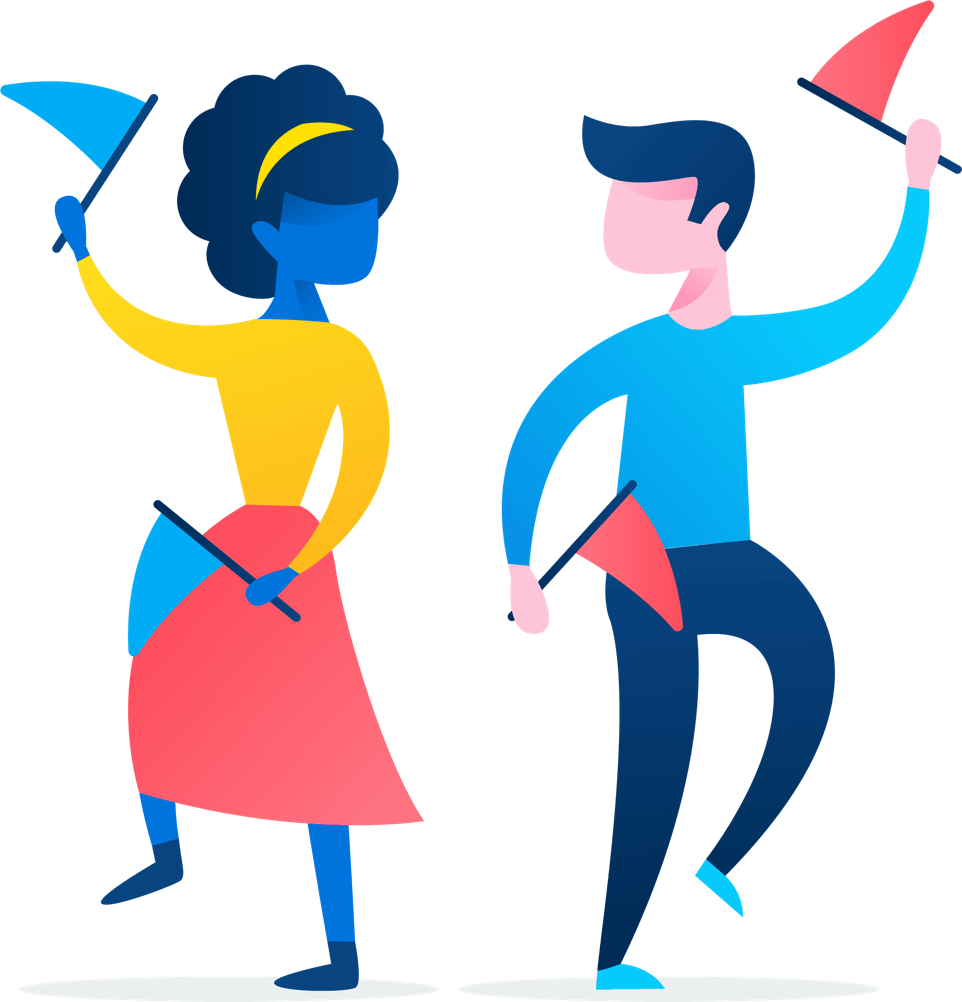 animated people dancing with flags inspirations in 2018