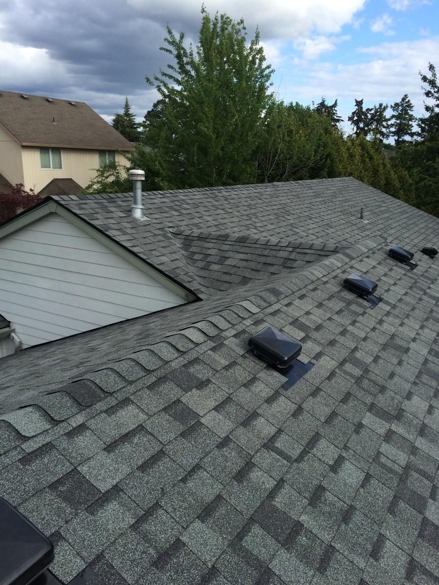 Certainteed Landmark 238lb Granite Grey Roof Installed By Orion Roof And Sheet Metal Roof Installation Corrugated Roofing Roofing