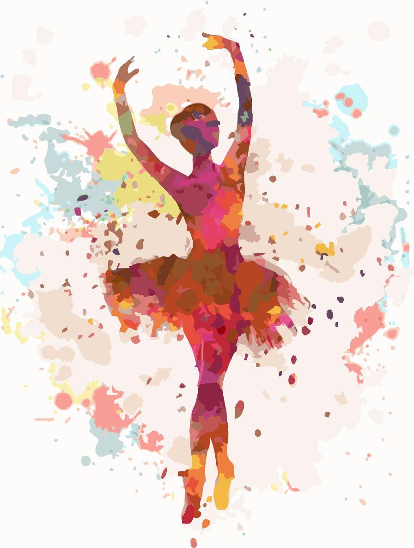 """#картинапономерам """"Балерина"""", артикул: KHO2672, размер ..."""