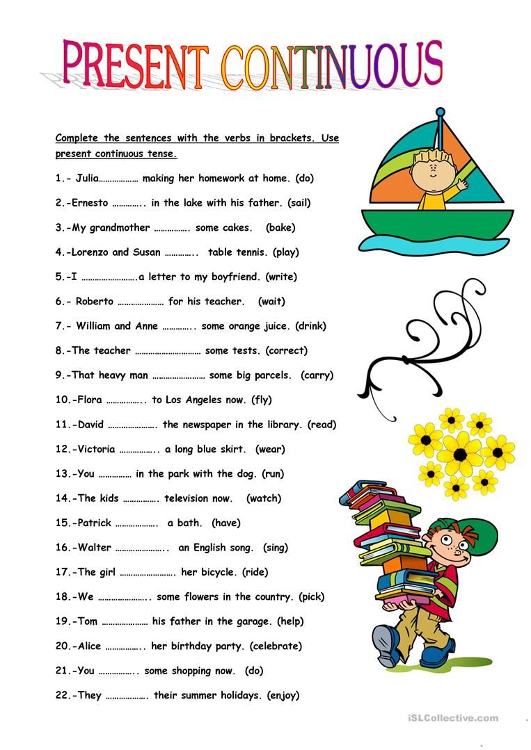 hight resolution of PRESENT CONTINUOUS TENSE worksheet - Free ESL printable worksheets made by  teache…   Present continuous tense