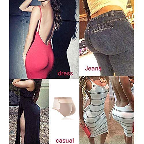 87005fdbc216 Shentukeji Women's Padded Seamless Butt Hip Enhancer Panties Shorts  Seamless Underwear,#Seamless, #