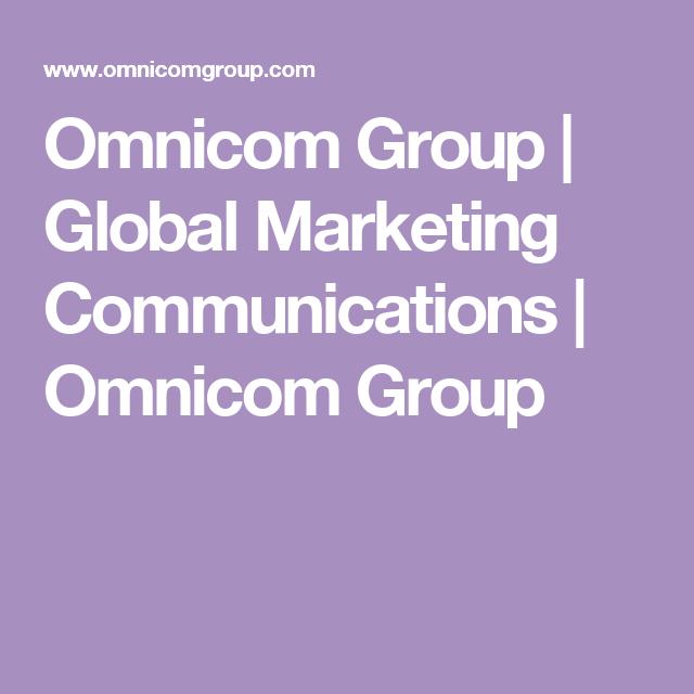 Omnicom Group | Global Marketing Communications | Omnicom Group