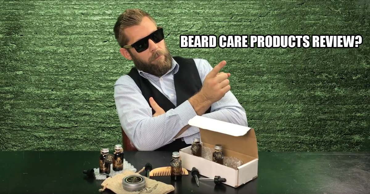 Beard Care Products Review? by Scott Barnes Beard care