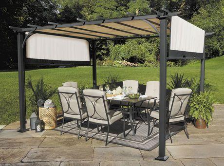 hometrends Summerhouse Pergola | Walmart.ca & hometrends Summerhouse Pergola | Walmart.ca | dankinyelu@gmail.com ...