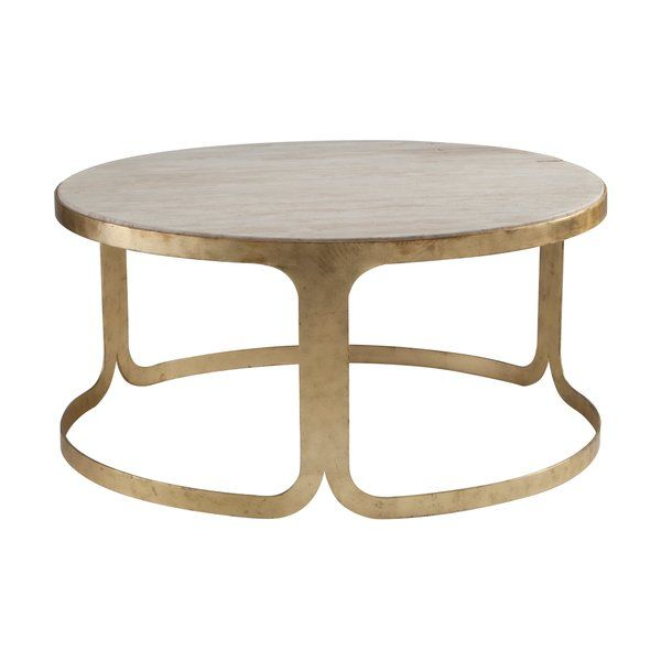 Arrange Framed Photos And Stacked Art Books On This Essential Table Perfect Anchoring Your Liv In 2020 Round Metal Coffee Table Coffee Table Round Coffee Table Modern
