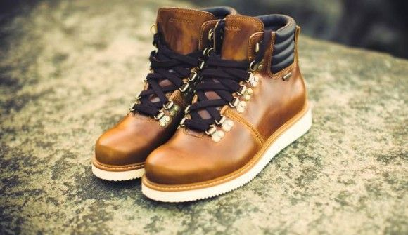 abington hiker hero timberland white sole contrast boots