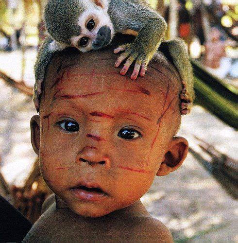 Nukak Maku tribe (Colombia) by Niels Van Iperen