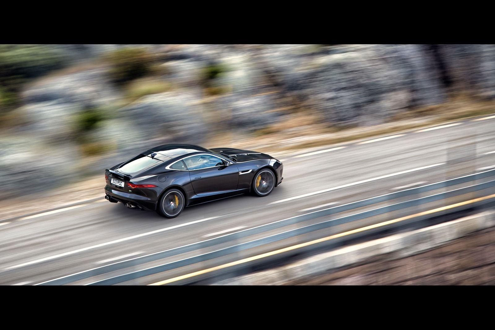 New Jaguar F-TYPE Coupé