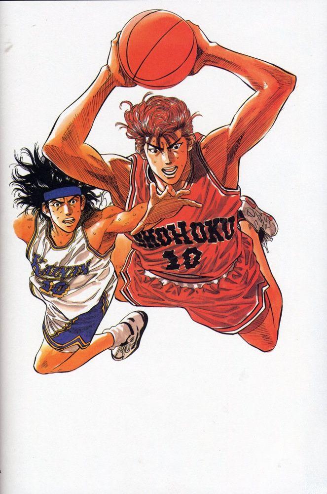 SLAM DUNK Inoue Takehiko 井上 雄彦(漫画家) Personajes de