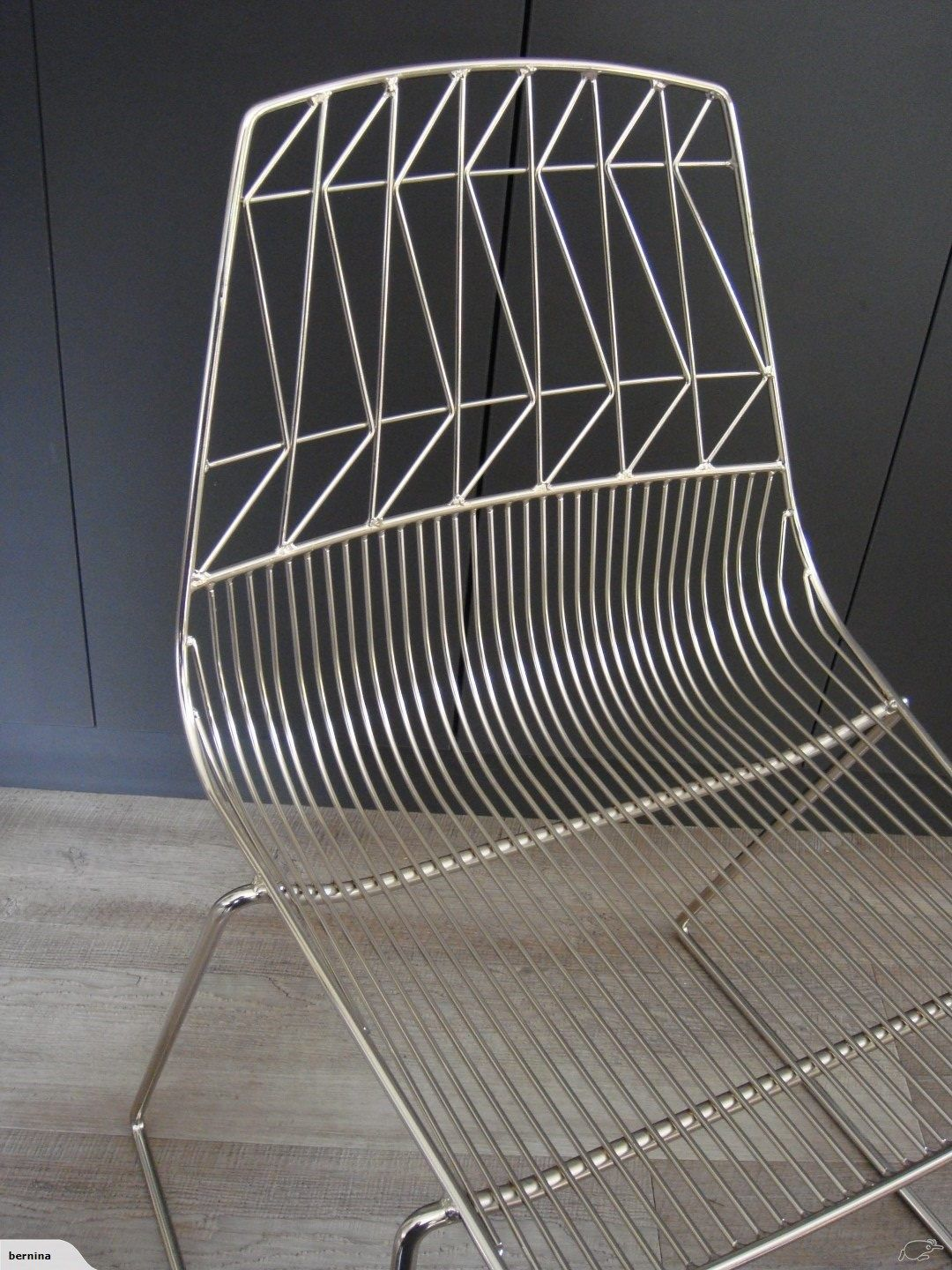 Contemporary Dining Chairs Carousell Ebay Wire Chair Chrome Stackable Cafe Electroplated Wire Dinin Contemporary Dining Chairs Wire Dining Chairs Dining Chairs