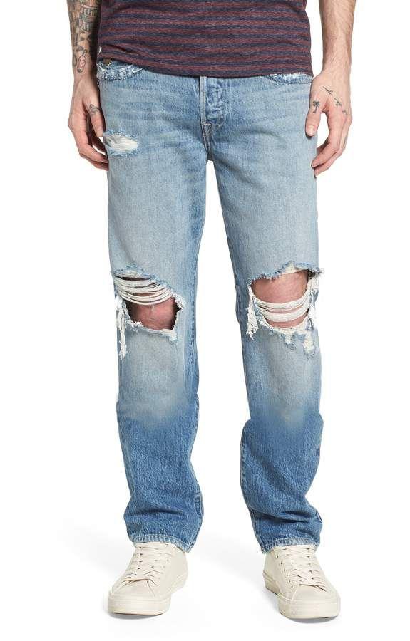 df0e64958f Men's True Religion Brand Jeans Geno Straight Leg Jeans, Size 40 ...
