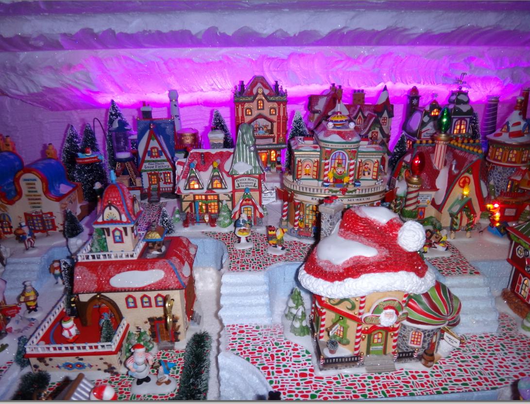 Image result for north pole christmas village | x-mas village ...