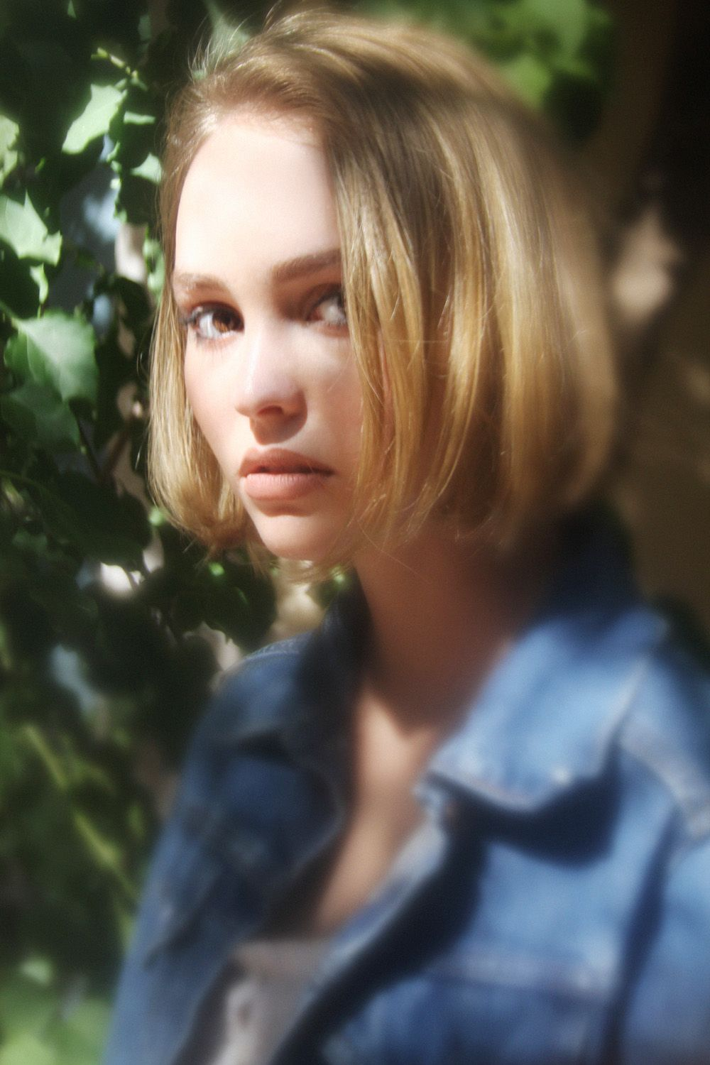 dress - Rose lily depp oyster magazine video