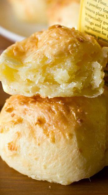 Pao De Queijo Brazilian Cheese Bread Recipe Recipes Food