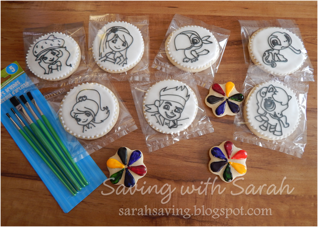 Coloring Book Cookies Paintable Strawberry Shortcake Jake And The Neverland Pirate Littlest Pet