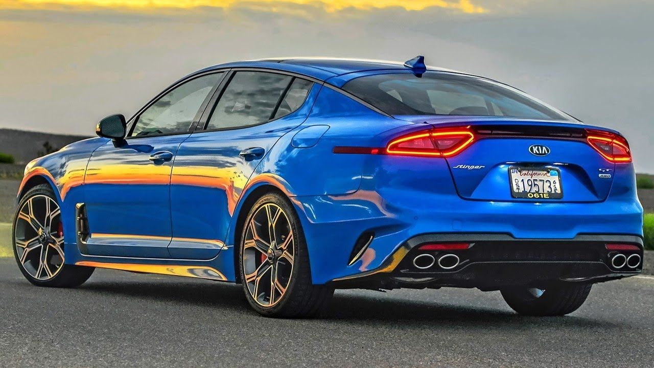 2019 Kia Stinger Gt Interior Exterior And Drive Cars Technology