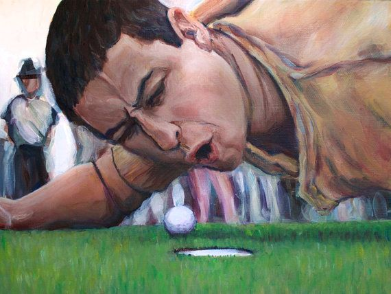 Happy Gilmore Are You Too Good For Your Home Print Portrait
