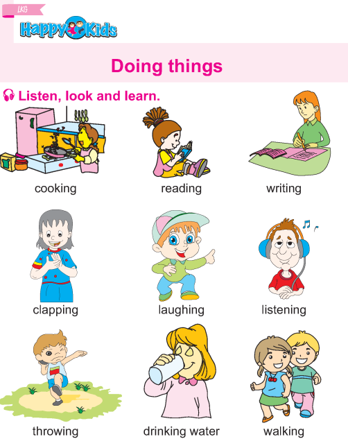 Boy And Girl Things Worksheets For Kindergarten
