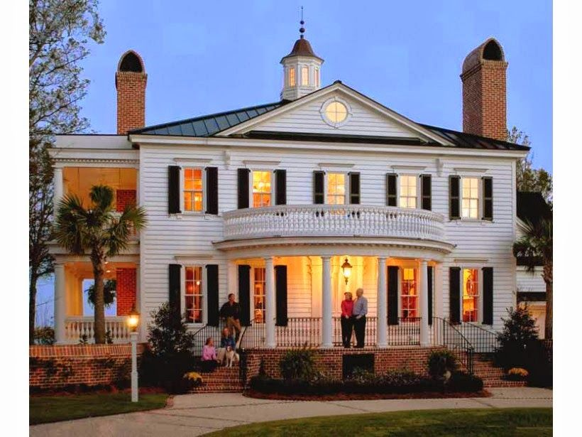23 Simple Georgian Colonial Homes Selection Galleries Colonial House Plans Southern House Plans Colonial House