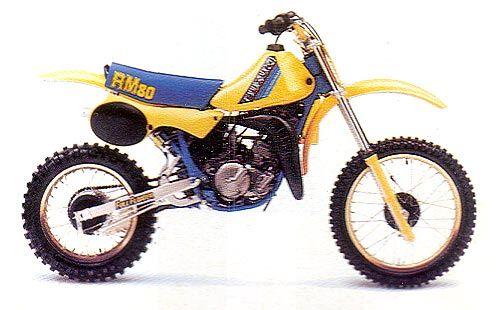 Suzuki Rm 80 1985 Motocross Bikes Vintage Motocross Dirtbikes
