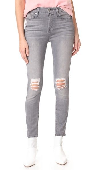 816708a2e7 B(air) Skinny Jeans with Knee Holes | My Style | Jeans, Skinny Jeans ...