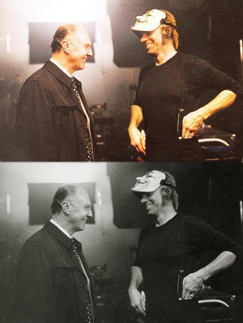 V For Vendetta V For Vendetta Hugo Weaving Scene Photo