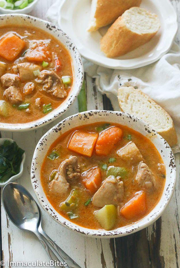 jamaican chicken and pumpkin soup recipe pumpkin soup