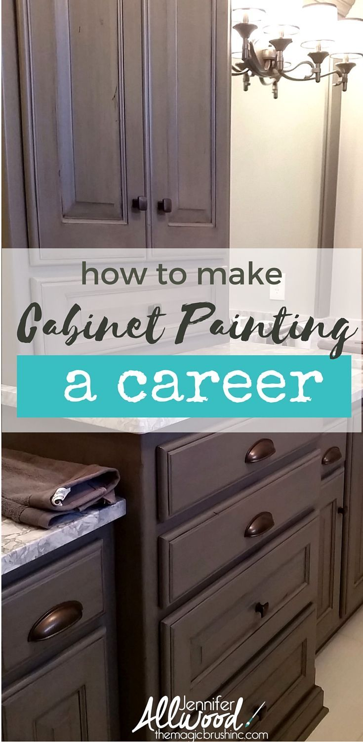 Info's : If you've painted your own cabinets and are ready to paint for others - this business training is for you. Learn how to start a successful cabinet painting business and start making money in a new career. Creative Business Training and tons of painting technique videos by Jennifer Allwood at theMagicBrushinc.com