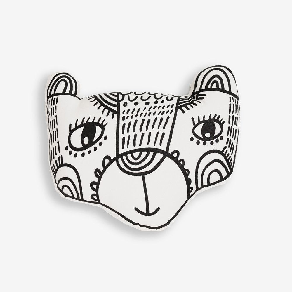 A Native of India, this sweet bear will brighten up your baby's room in any corner of the world! Handcrafted from organic cotton in a Fair Trade Certified facility. - Ages: all ages - decor - Material