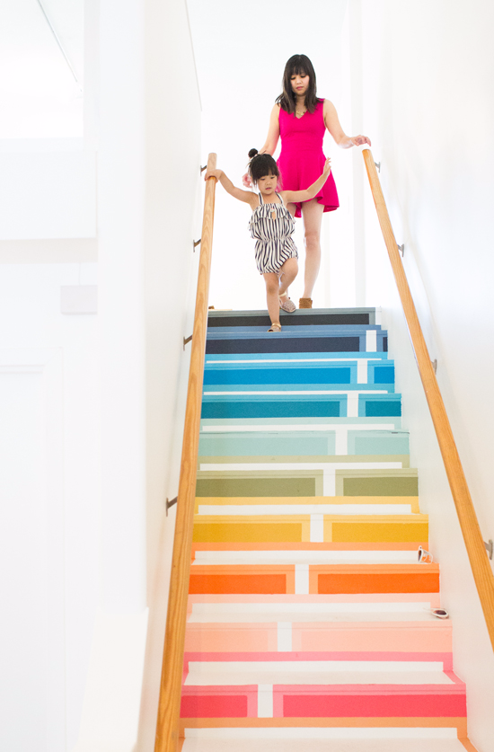 Oh Joy / Rainbow Stairs   Would Love To Have These Leading To My At Home