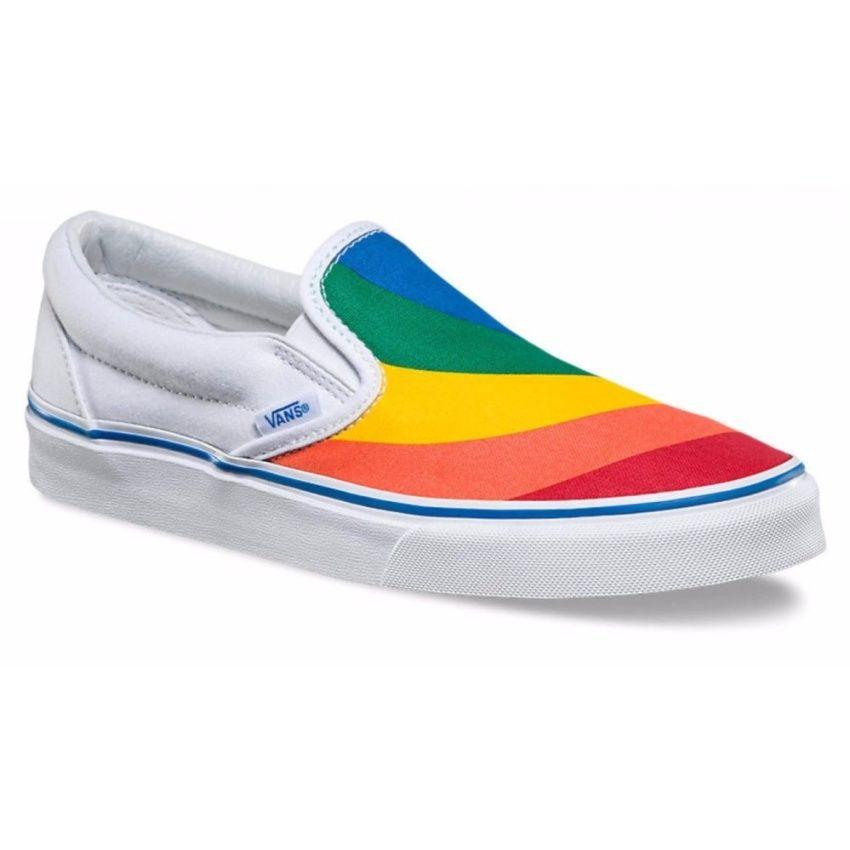 ขาย<SP>VANS รองเท้า แวน Canvas Shoe Classic Slip-on VN0A38F79NK (2200