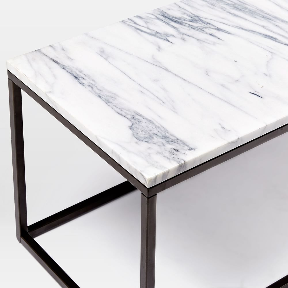 Box Frame Coffee Table - Marble/Antique Bronze   Coffee tables ...