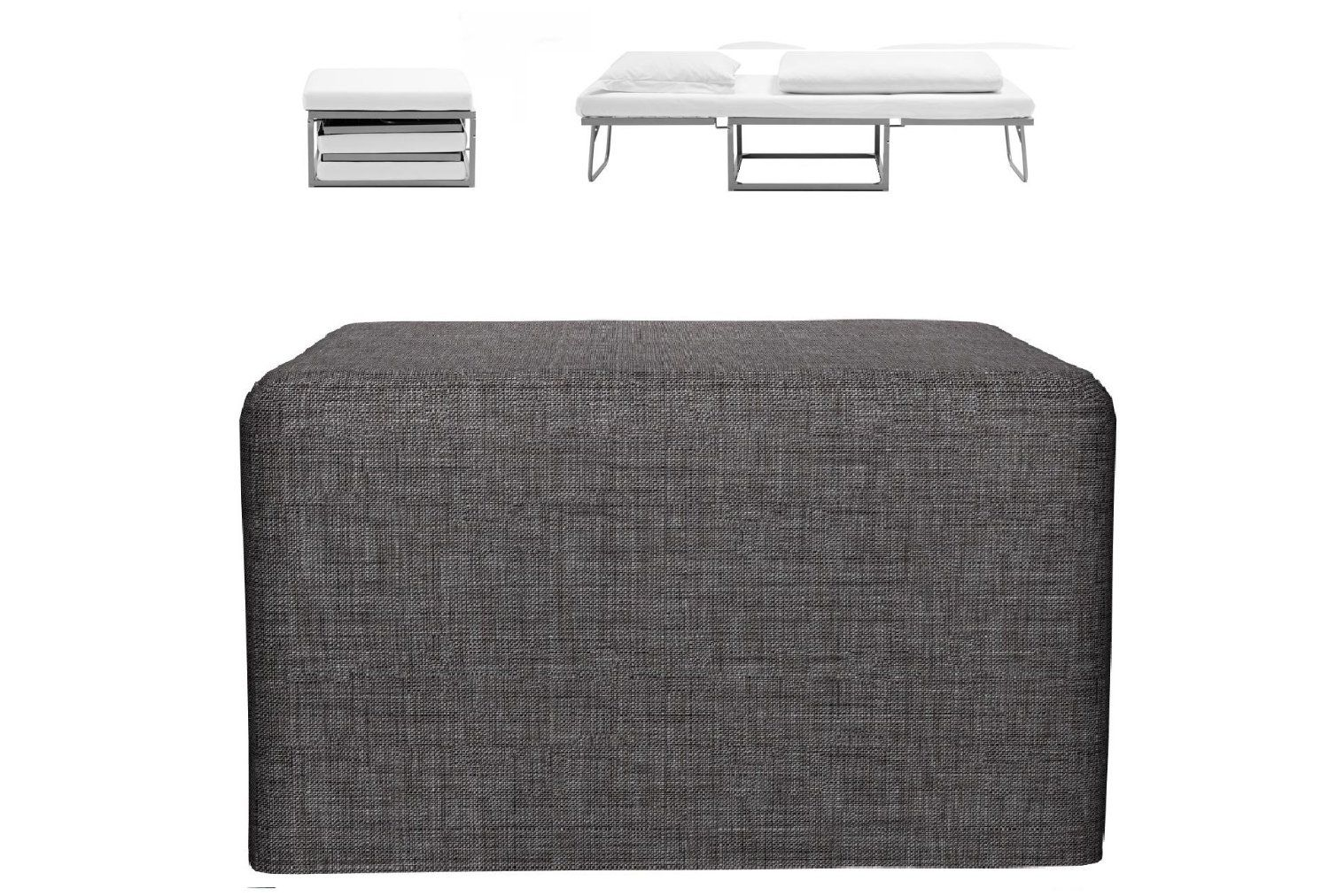 BED IN A CUBE 3 in 1 COMPACT FOLDING SINGLE SOFA GUEST