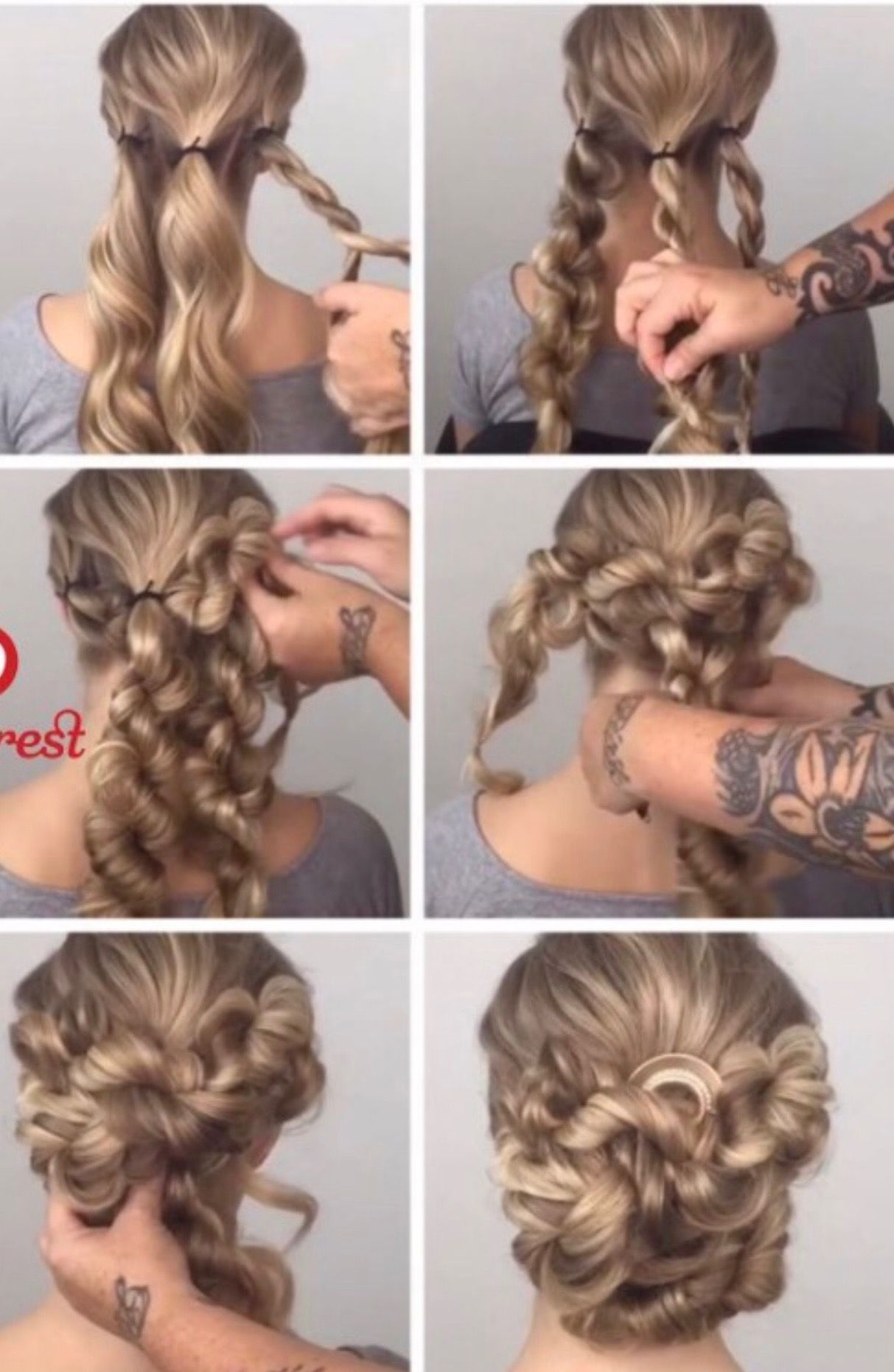Pin By Jolie On Hair Bun Ideas Long Hair Styles Prom