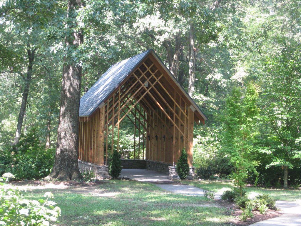 Blecken Pavilion Memphis Botanic Gardens I think I just chose my