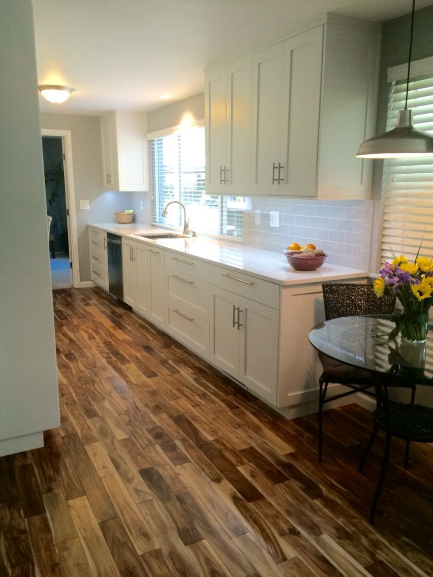 Acacia wood floors in 2020 | Wood floor kitchen, House ...