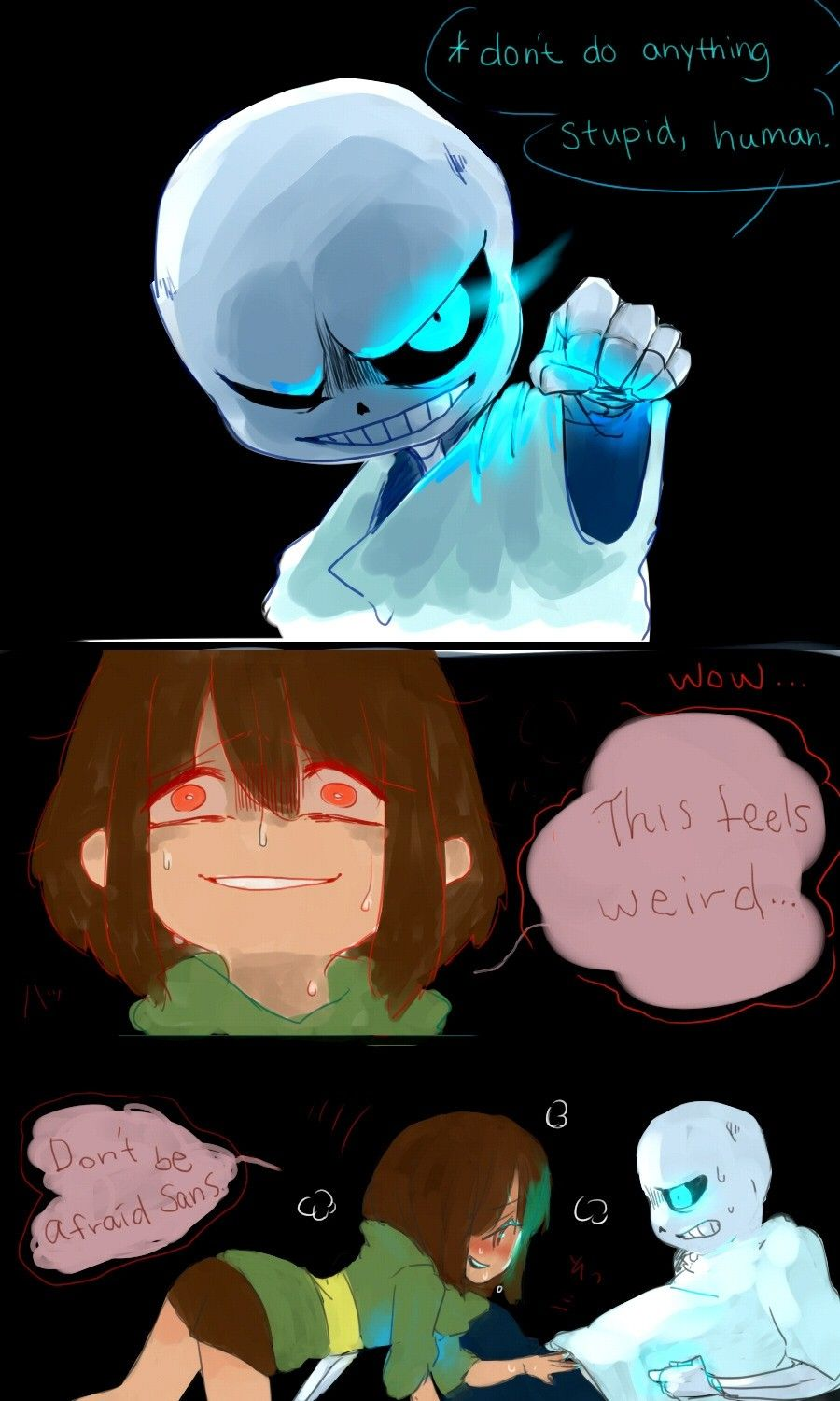 Undertale Sans X Player - Year of Clean Water