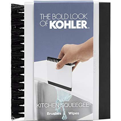 Amazon Com Kohler Kitchen Sink Squeegee And Countertop Brush