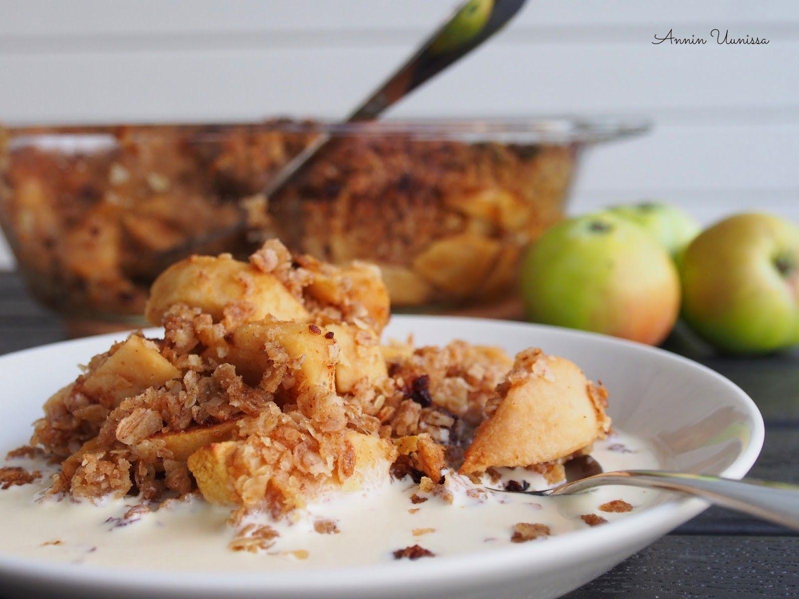 Annin Uunissa: Täysjyväinen Omenahyve