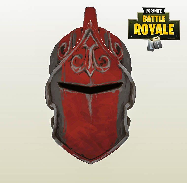 Red Knight Helmet Red Knight Helmet Templates Diy Patterns Red