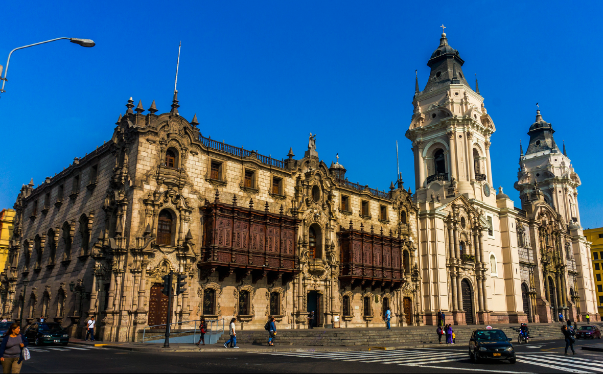 Palacio Arzobispal, Lima, Perú